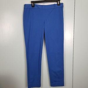 J.Crew Blue skinny ankle pants size 6 -C7
